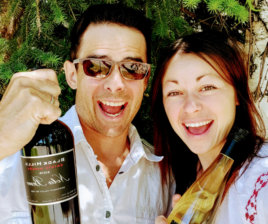 Carl's Wine Club Founders Carl Boucher & Mira Boucher